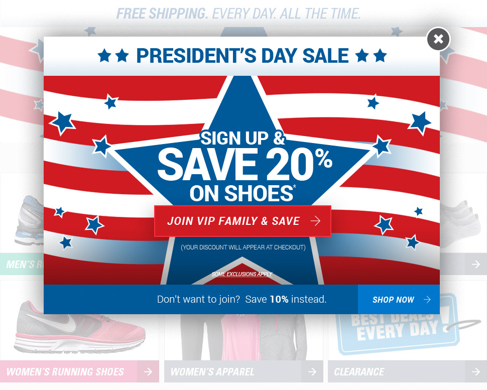 President's Day Sale - Save 10% on everything*