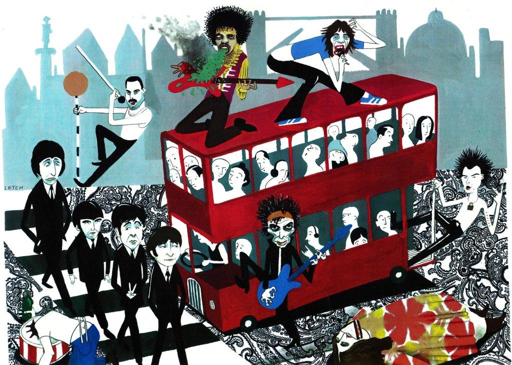 London rock tour