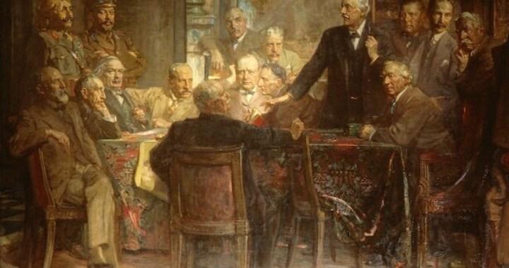 Statesmen of World War I by Sir James Guthrie (detail)
