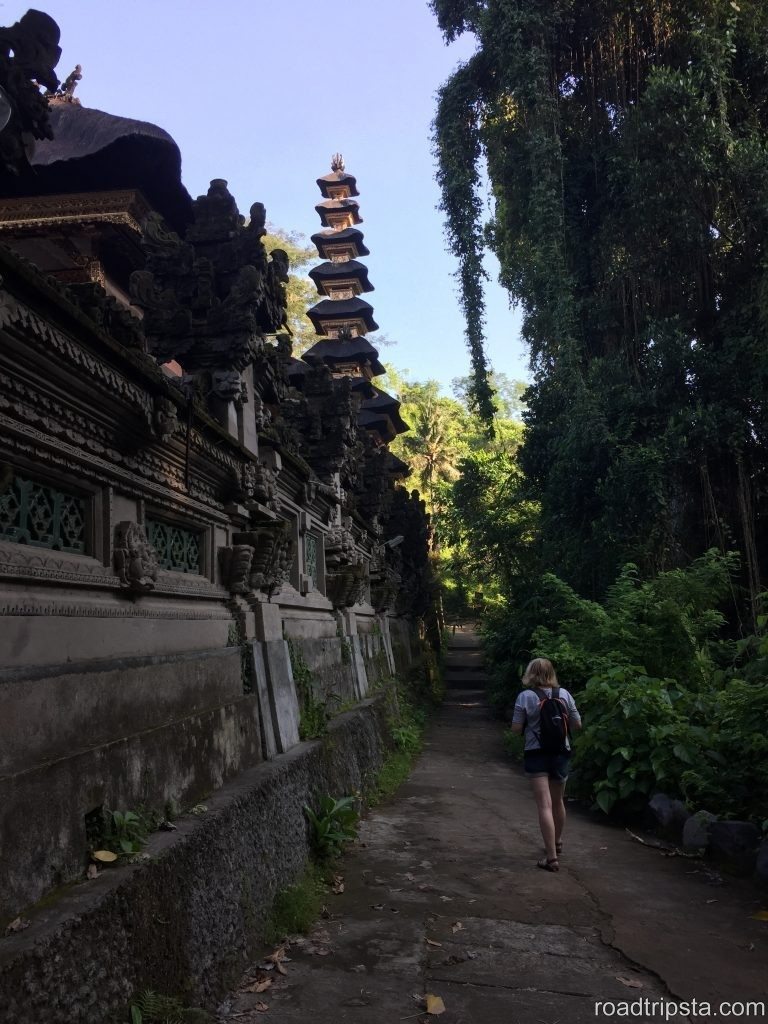 Bali - my first time backpacking without Andreas