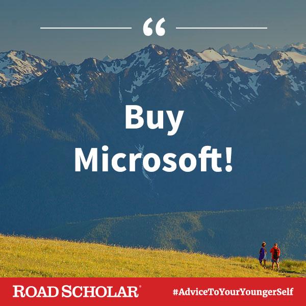 Buy Microsoft!