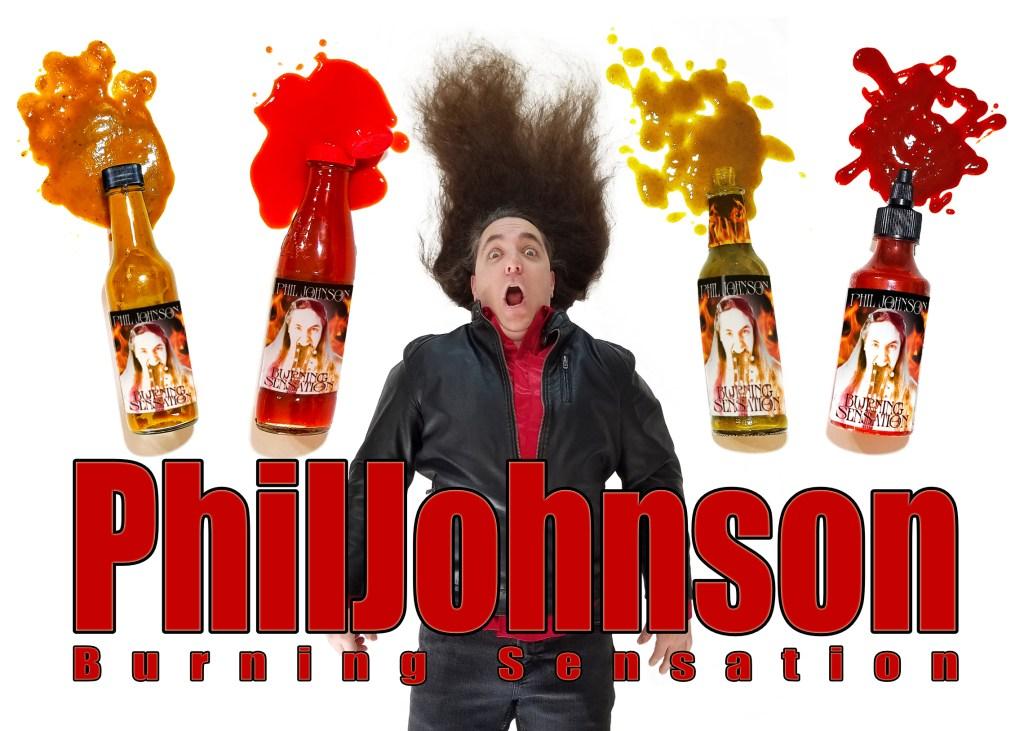 Burning Sensation by Phil Johnson