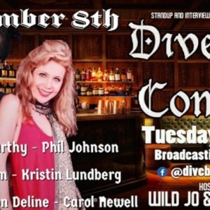 Dive Bar Comedy December 8th