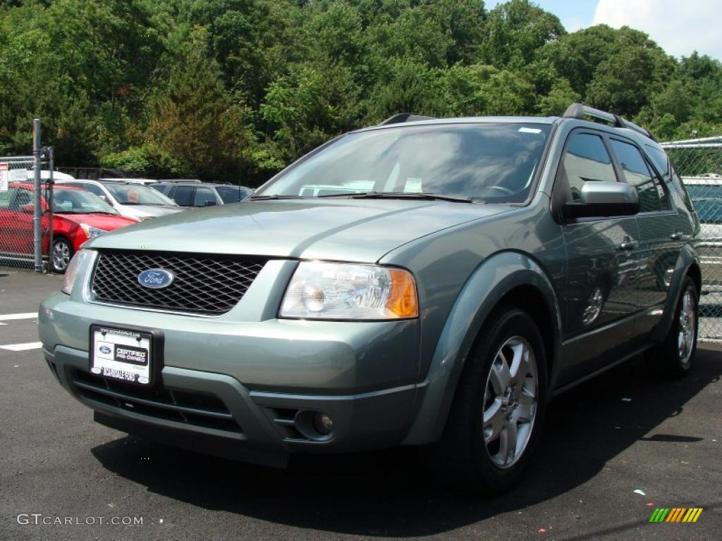 Light Blue 2007 Ford Freestyle