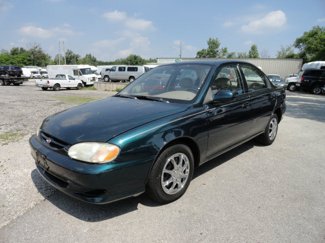 Image result for 2003 kia sephia green