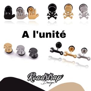 Boucles d'oreilles à l'unité ROADSTRAP