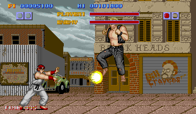 The First Street Fighter (Capcom, 1987), not a patch on its successor.