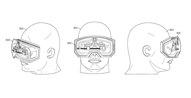 apple virtual reality hmd head mounted display vr headset patent