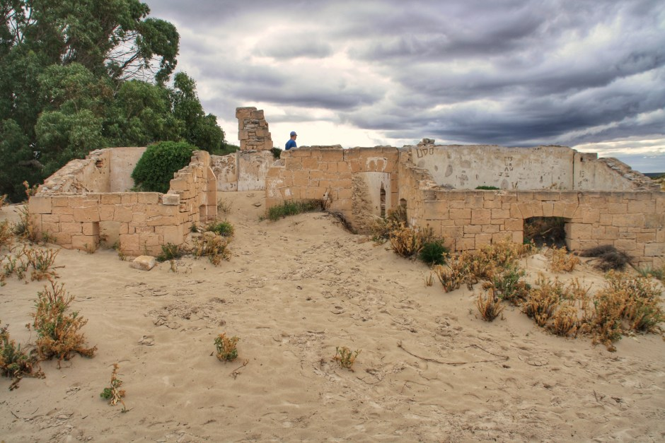 The Old Eucla Telegraph Station