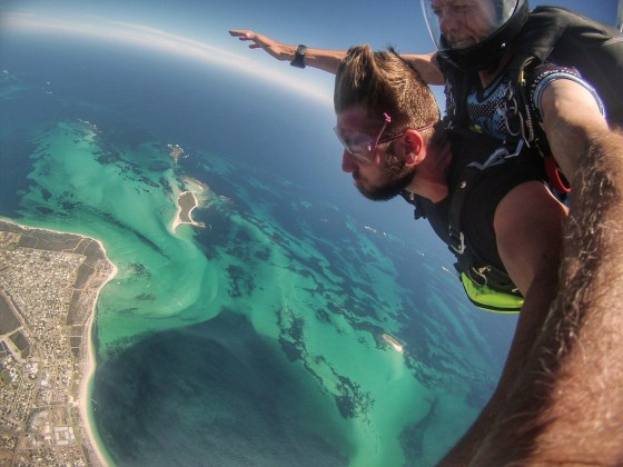 Skydiving Jurien Bay, Western Australia