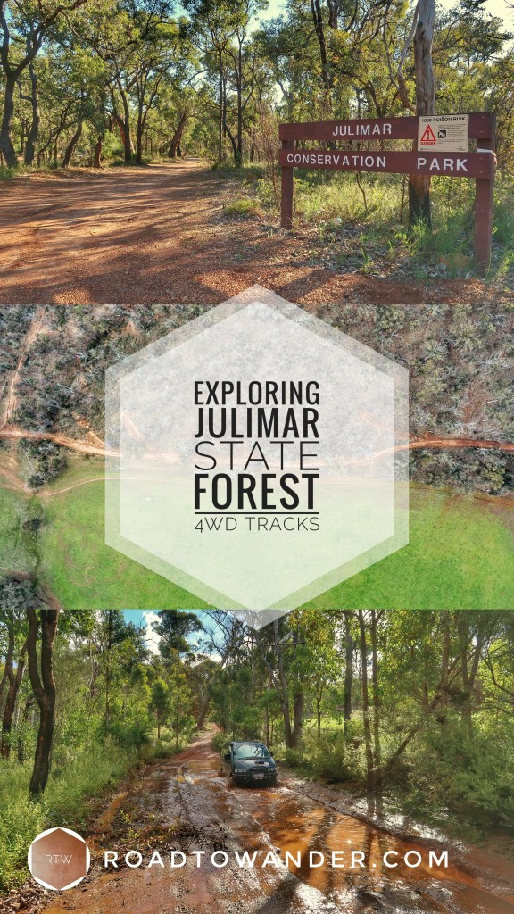 Exploring Julimar State Forest 4WD tracks in Perth, Western Australia