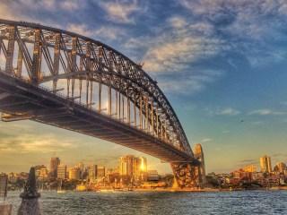 The infamous Sydney Harbour Bridge