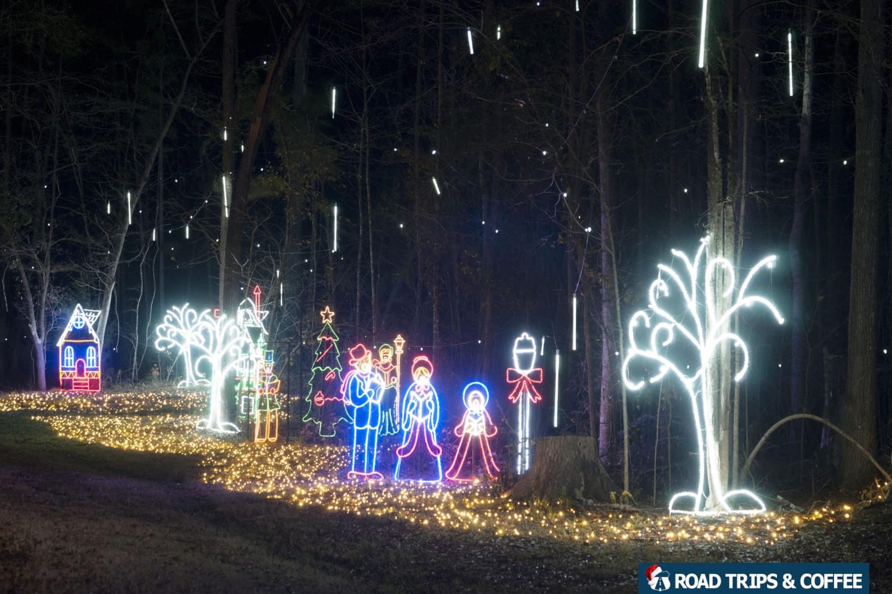 Riverbanks Zoo Columbia Sc Lights Christmas