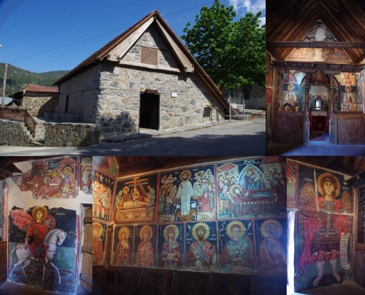 Saint Michael Church - Troodos - Cyprus