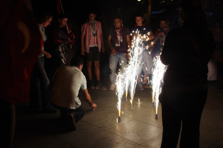 Antalia-Turkey-occupy-Gezy-fireworks