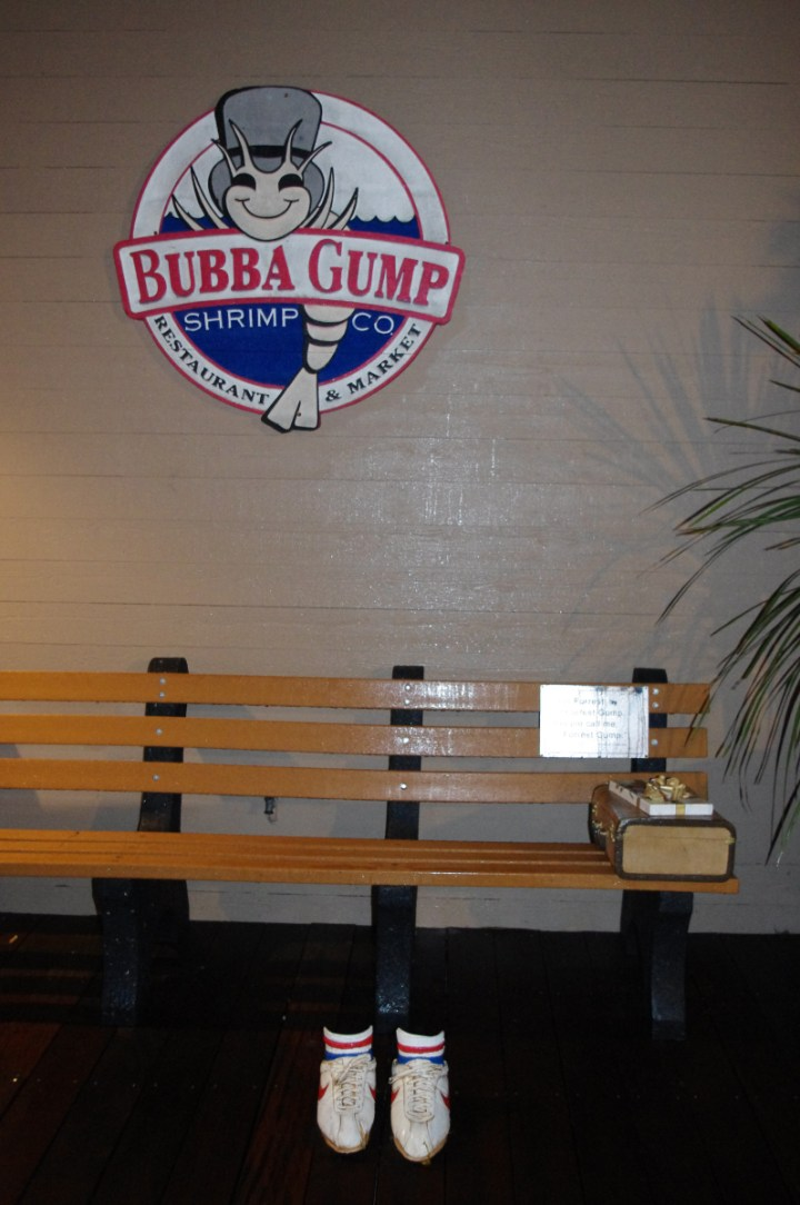 Buppa Gump - Pier39 in San Francisco, USA - - learn more on Road Trips around the World - www.RoadTripsaroundtheWorld.com