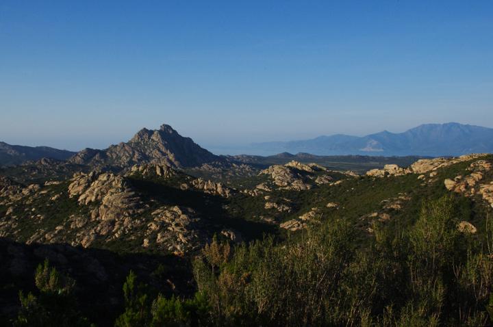 Corsica - road Calvi to Porto