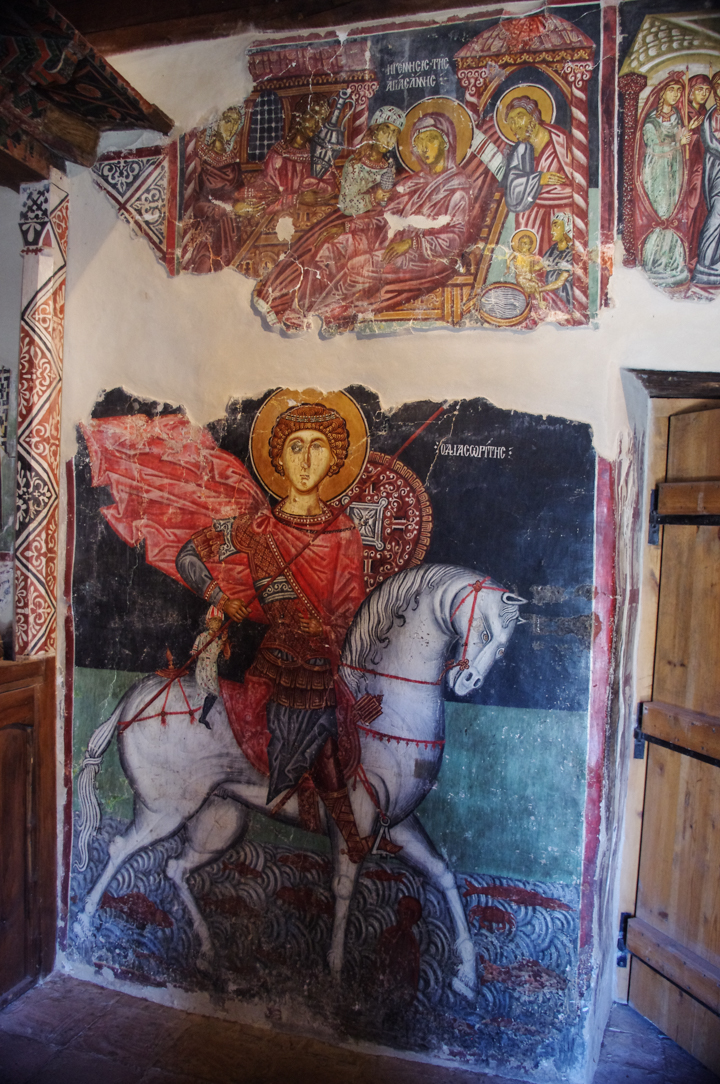 Archangel Michael - Pedoulas - Troodos Church - Cyprus - Saint