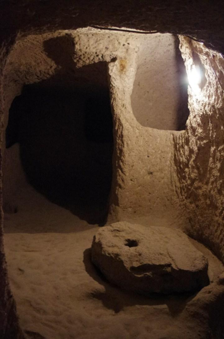 Kaymakli underground city - Cappadocia - Turkey-bedroom