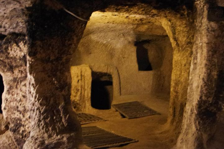 Kaymakli underground city - Cappadocia - Turkey-room