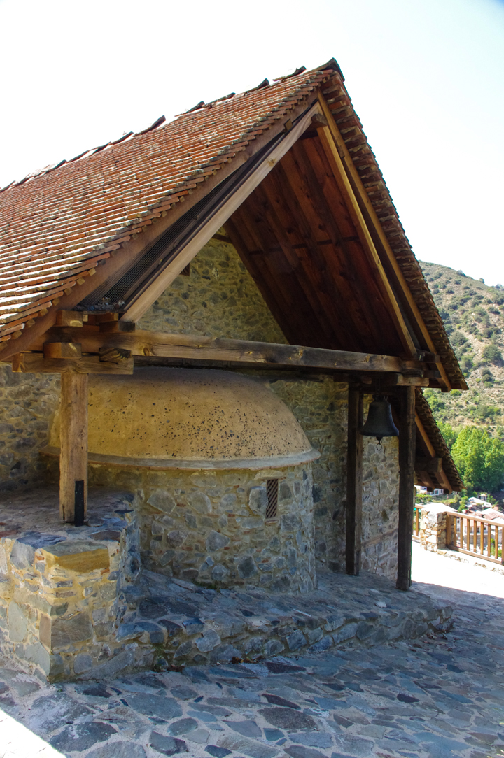 Panagia Moutoulla - Troodos Church - Cyprus- bell