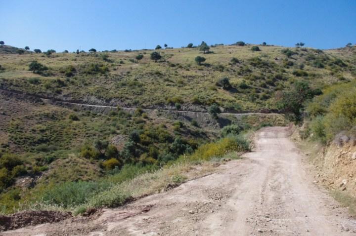 Adonis Baths - Cyprus - road to
