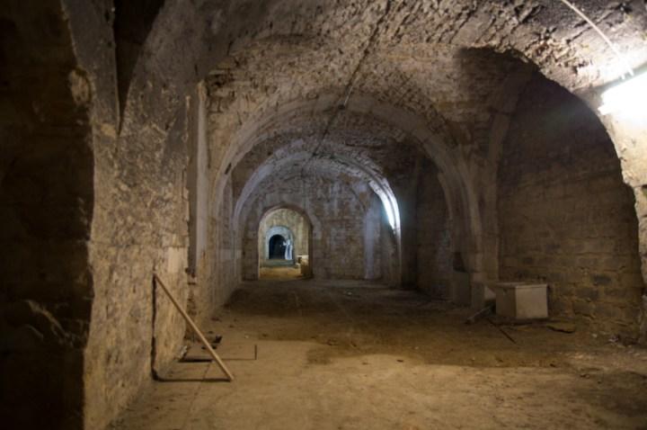 ORVAL- Belgium - inside museum - closed caves