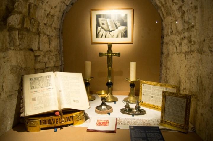 ORVAL- Belgium - inside museum - detail