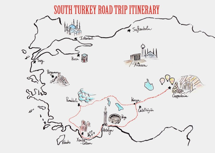 Road Trip in Turkey - A road trip in the South of the country - RTatW