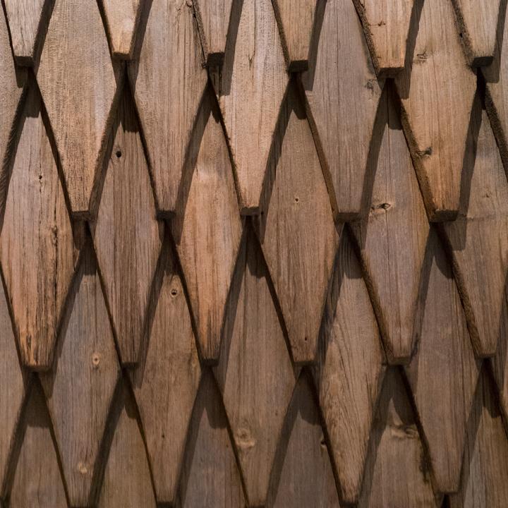 Borgund Stave Church - Norway - wood shingles