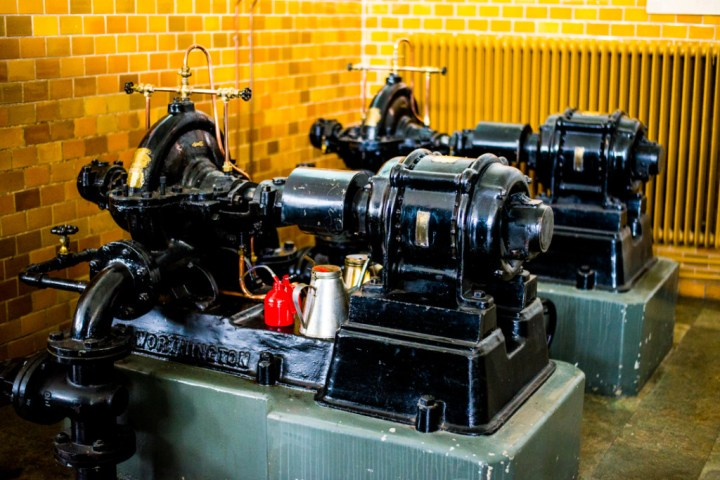 Grimeton Radio Station- Sweden - cooling pumps