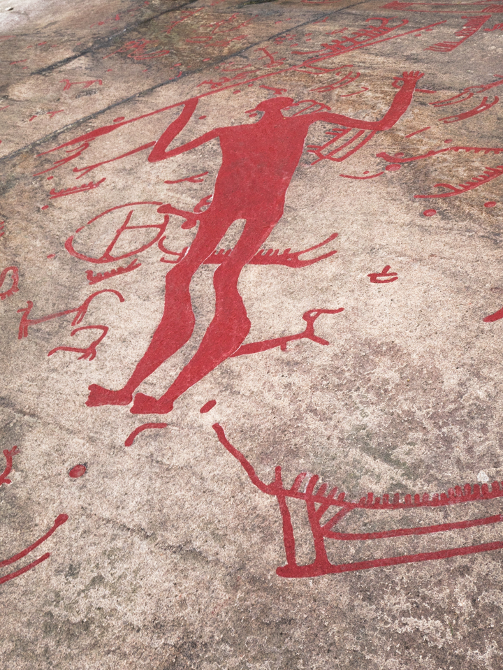 Rock Carvings in Tanum - Sweden - UNESCO World Heritage site_