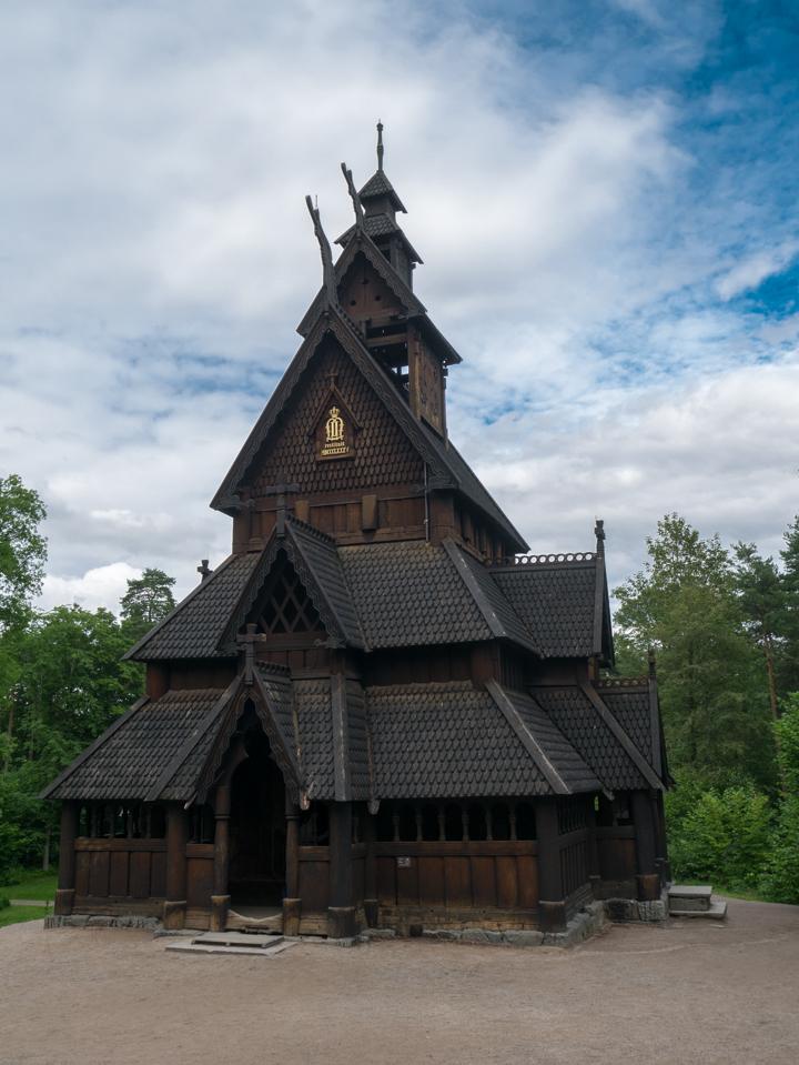 Stave Church - Oslo - Sweden