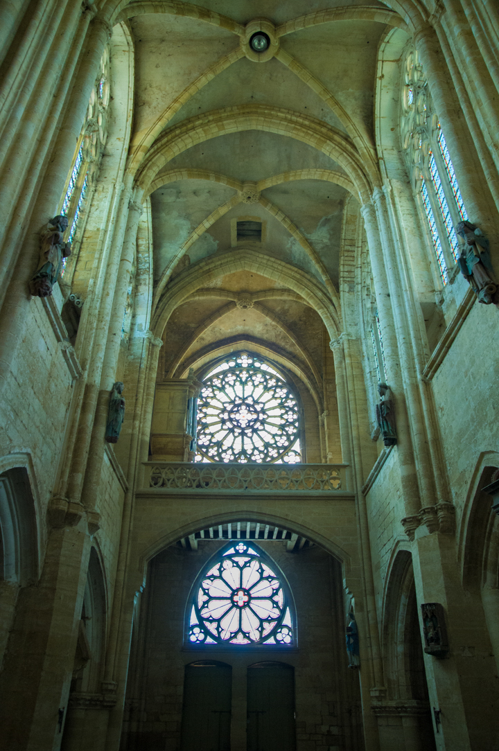Nave seen from the quire - Notre Dame d'Avioth - Avioth - France