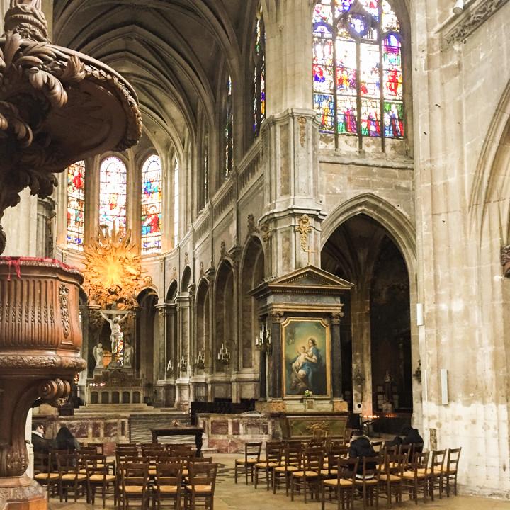 Paris - France - Saint Merri church crossing