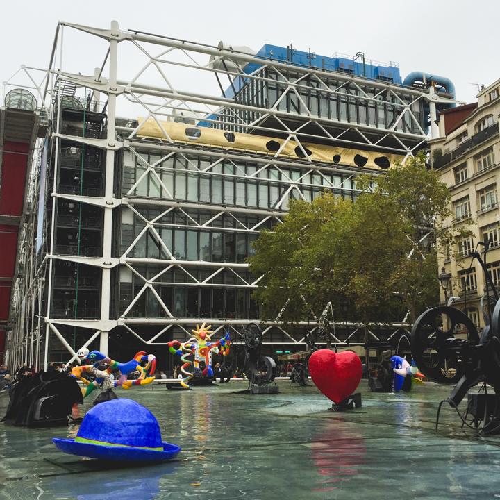 Paris - France - Stravinsky Foutain - Niki de Saint Phalle