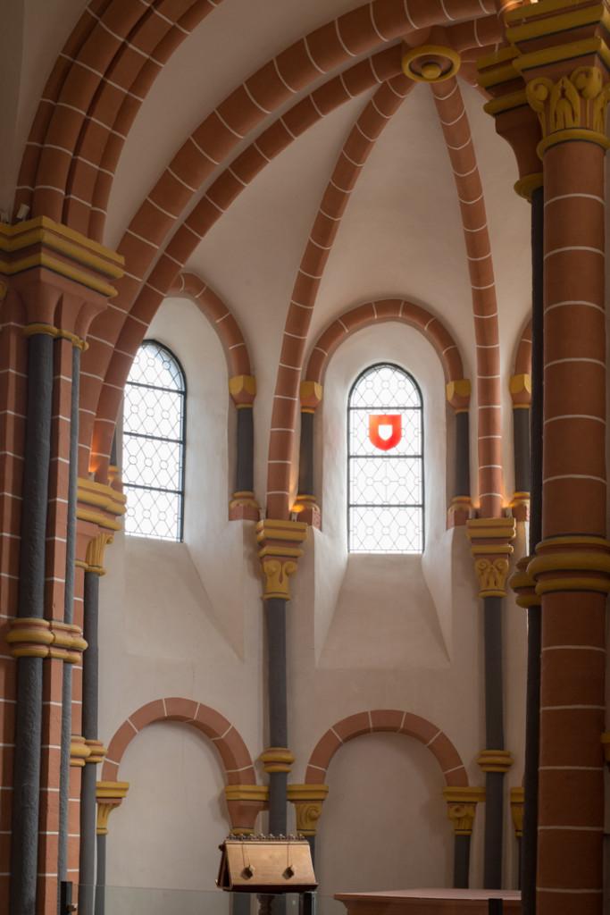 Vianden Castle - Luxembourg - detail of the chapel
