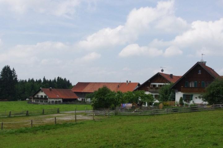 Wies Church - Wieskirche - Germany - surrounding village