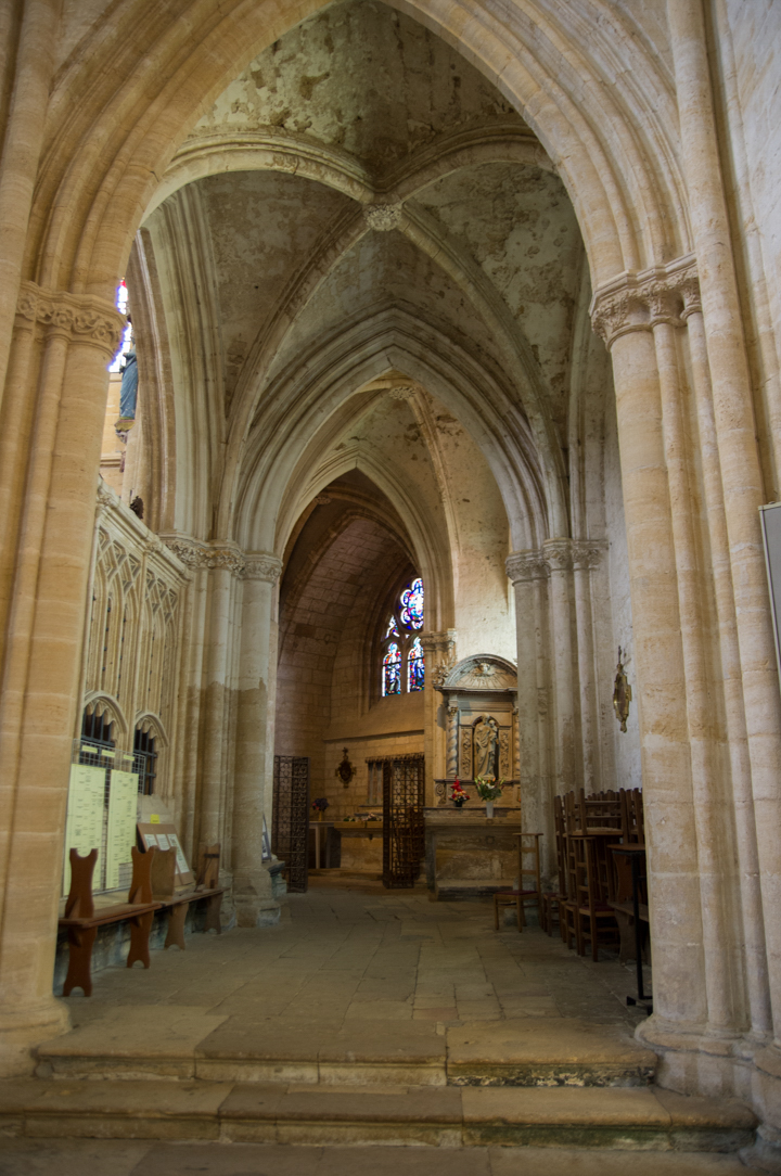 view on the ambulatory - Notre Dame d'Avioth - Avioth - France
