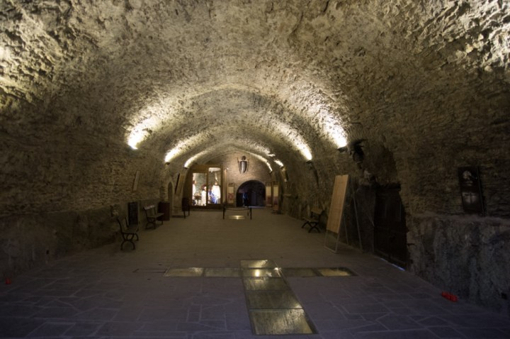 Bouillon Castle - Belgium - Godfrey of Bouillon - Godfrey Bouillon room