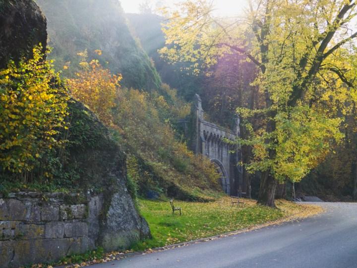 Bouillon Castle - Belgium - Godfrey of Bouillon - outside view