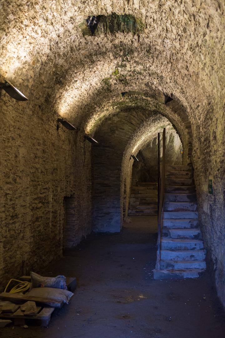 Bouillon Castle - Belgium - Godfrey of Bouillon - underground gallery