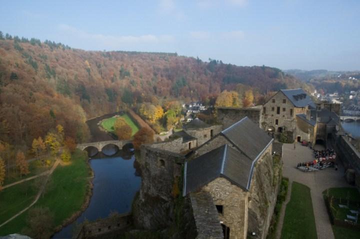 Bouillon Castle - Belgium - Godfrey of Bouillon - view from Austria tower