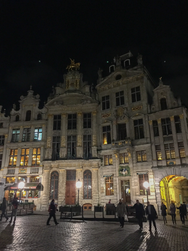 Guildhalls - Grand Place - Brussels - Belgium
