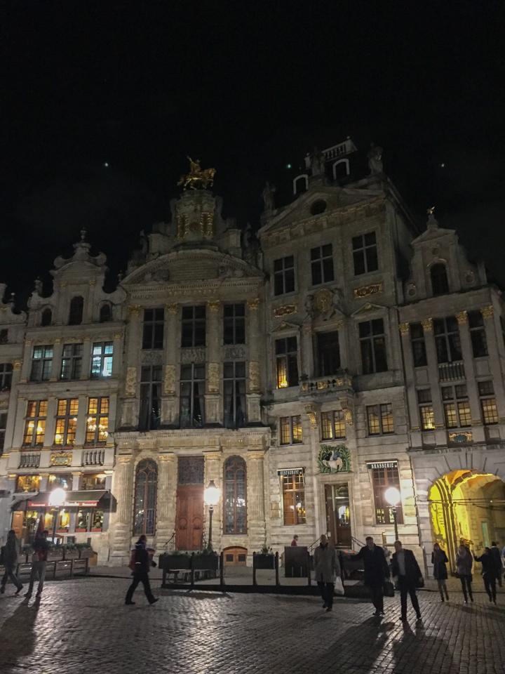 Guildhalls - Grand Place - Brussels - Belgium