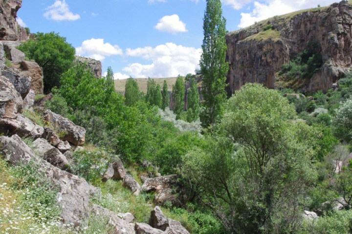 Ihlara Valley - Cappadocia - Turkey - view from stairs