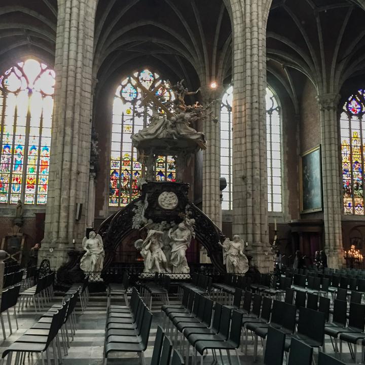 Saint Bavo cathedral Pulpit - Ghent - Belgium