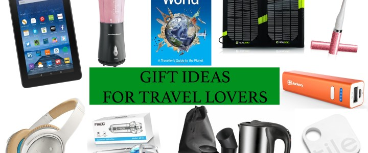 Christmas gift ideas for Travel Lovers