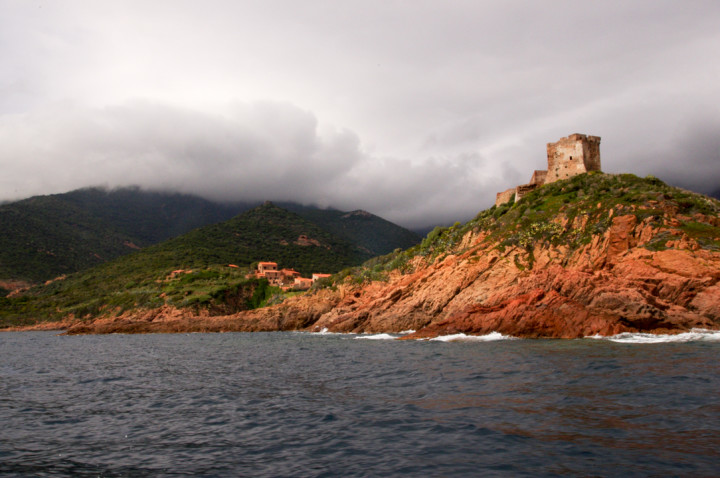 Scandola Nature Reserve in Corsica - Fort