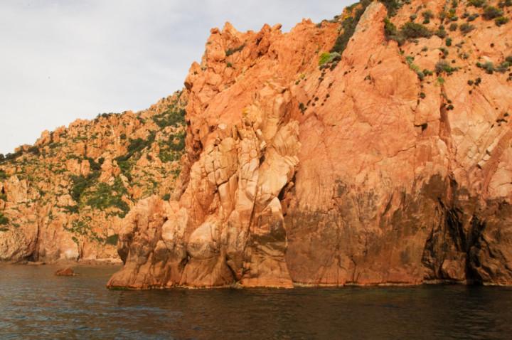 Scandola Nature Reserve in Corsica - Porto Golf calanques beautiful rocks